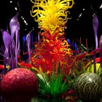 Vibrantly Colored Hand Blown Glass Gardens Dale