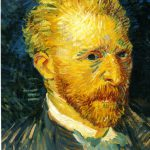 Vincent Van Gogh Self Portrait Welcome