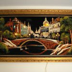 Vintage Velvet Painting Lights Collectors