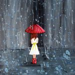 Walk Through Rain Rachelle