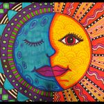 Warm Sun Cool Moon Mexican Folk Art Project Grades Created Meredith
