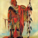 Watchful Fox Indian Chief George Catlin Native American Art