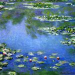 Water Lilies Claude Monet Giclee Fine Art Print Reproduction Canvas