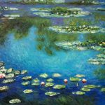 Water Lilies Claude Monet Oil Painting