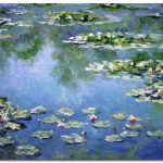 Water Lilies Munch Paintings Famous Art
