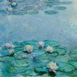 Water Lilies Painting Claude