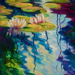 Water Lilies Painting Marion