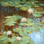 Water Lily Painting Dmitry