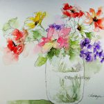 Watercolor Paintings Roseann