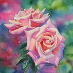 Watercolor Rose Painting Tutorial