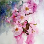 Watercolour Florals Cherry