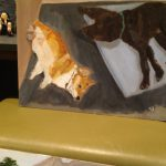 Watermelon Golf Course Horse Monstrous Dogs New Paintings George