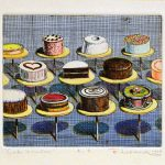 Wayne Thiebaud Fine Cartoon