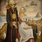 Weird Visions Oil Paintings Mark Rogers Anthony