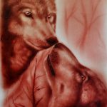 Welcome Boma Peters Blog Artist Uses His Own Blood Create Stunning