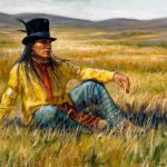 White Wolf James Ayers Outstanding Paintings Native American