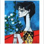 Wife Picasso Hand Signed Artwork Modern Fine Art Prints