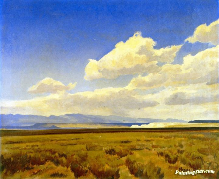Wind Wyoming Artwork Maynard Dixon Oil Painting Art Prints Canvas