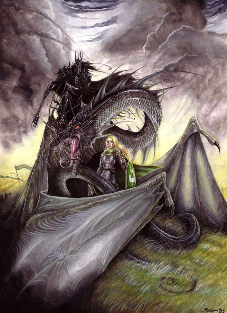 Witch King Angmar Art Mordor Land