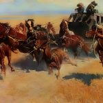 Work After Frederic Remington Painting Van