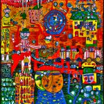 World Best Photos Hundertwasser Painting Flickr Hive