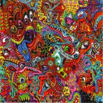 Wowza Blotter Art Psychedelic Perforated Lsd Acid