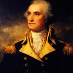 Young General George Washington Painting