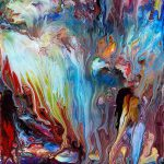 Abstract Fluid Painting Acry