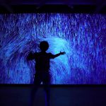 Abstract Wall Performance Video Installation Excerpts