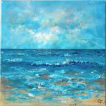 Affordable Original Sea Beach Paintings Etsy Artists Bliss