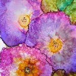 Alcohol Ink Art Print Maure
