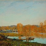 Alfred Sisley Automne Bords Seine Pres Bougival Autumn