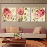 Aliexpress Buy Piece Classical Canvas Art Rose Painting Floral Oil Paintings
