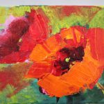 Amy Whitehouse Paintings Poppies Floral Contemporary Arizona