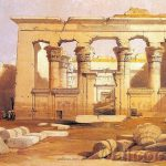Ancient Egyptian Architecture Great Portico Kalabasha