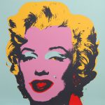 Andy Warhol Screenprint Selling Through Gilt