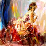 Anna Razumovskaya Praying Love Painting Best Paintings
