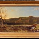 Antique Landscape Oil Painting Sale