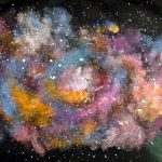 Artisan Des Arts Outer Space Nebula Galaxy Paintings Grade Science
