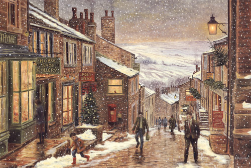 Artist Melling Paintings Prints Yorkshire Dales