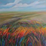 Artists Texas Contemporary Paintings Art Anyway Wind Blows Kay Wyne
