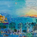 Artwork Raoul Dufy Nice Ancien Casino Painting Oil Canvas