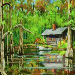 Bayou Painting Dianne