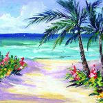 Beach Acrylic Painting Lessons Beginners Advanced
