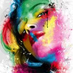 Beautiful Acrylic Painting Works Your