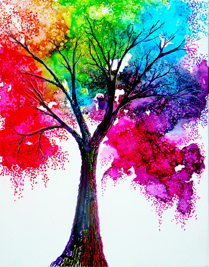 Beautiful Colorful Watercolor