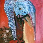 Beautiful Ugly Turkey Painting Theo