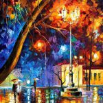 Beautiful Vividly Colored Landscapes Paintings Leonid