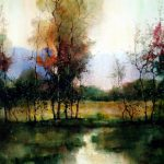 Beautiful Watercolor Landscape Paintings