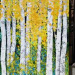 Birch Aspen Trees Large Extra Landscape